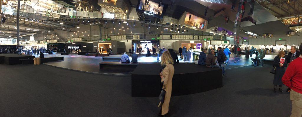Schuhordermesse Mailand 2017