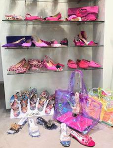 Schuh Lakota Passau Sommer 2019 in Pink und transparenter Optik